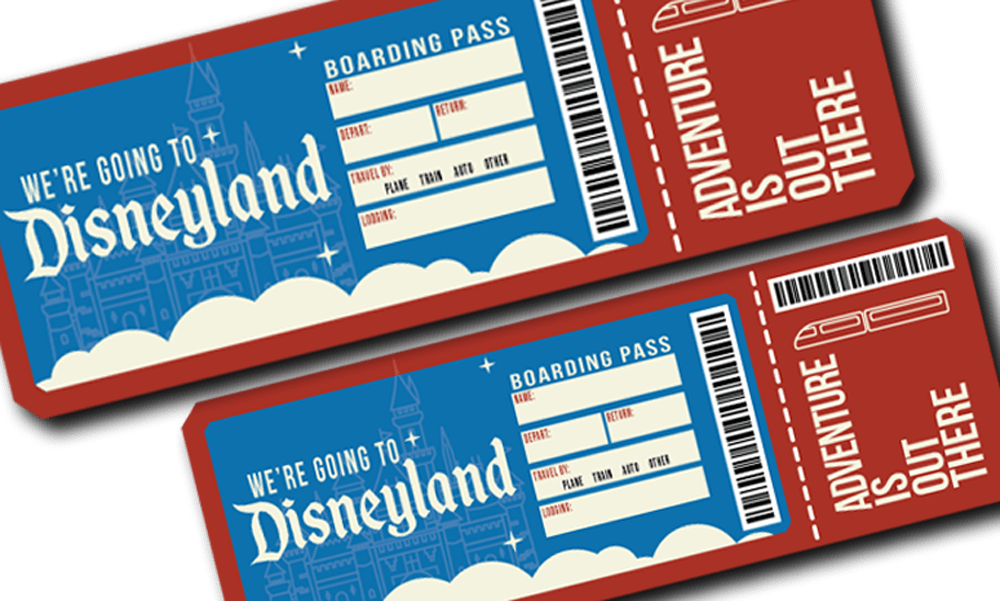 photo relating to You're Going to Disneyland Printable titled disneyland printable - MouseWait