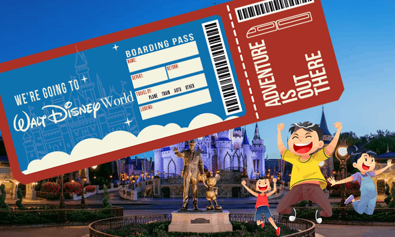 image about Disney World Printable Tickets known as Disney World wide Printable - MouseWait